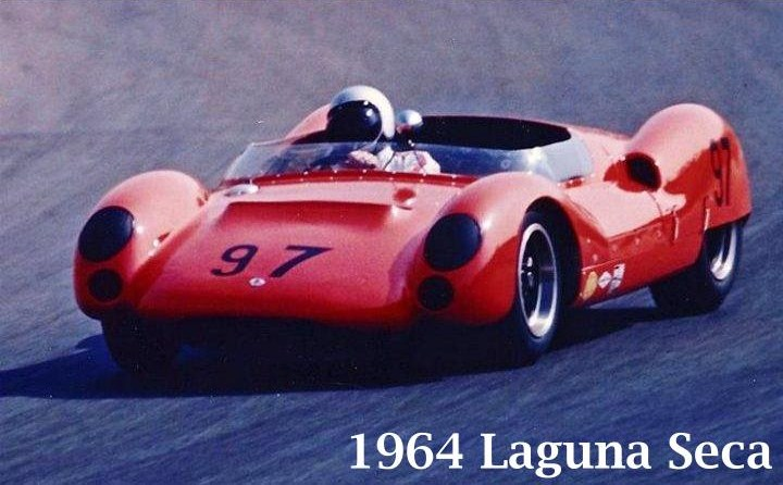 Racer Dave MacDonald King Cobra Lang Cooper at Riverside