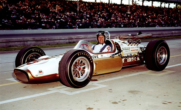 Crowd favorite and Indy veteran Eddie Sachs before 1964 indy 500