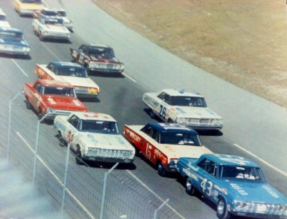 Racer Dave Macdonald 10th In 1964 Nascar Daytona 500