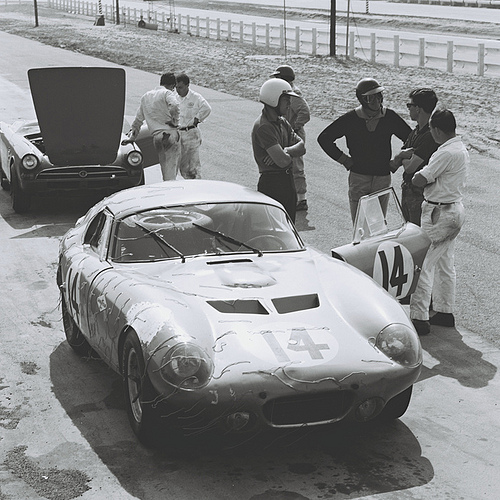 Racer Dave MacDonald also helped during construction of Shelby Cobra Daytona Coupe