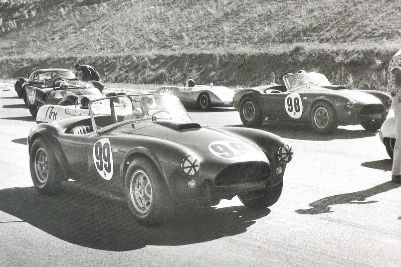Dave MacDonald races the Cobra LeMans Hardtop