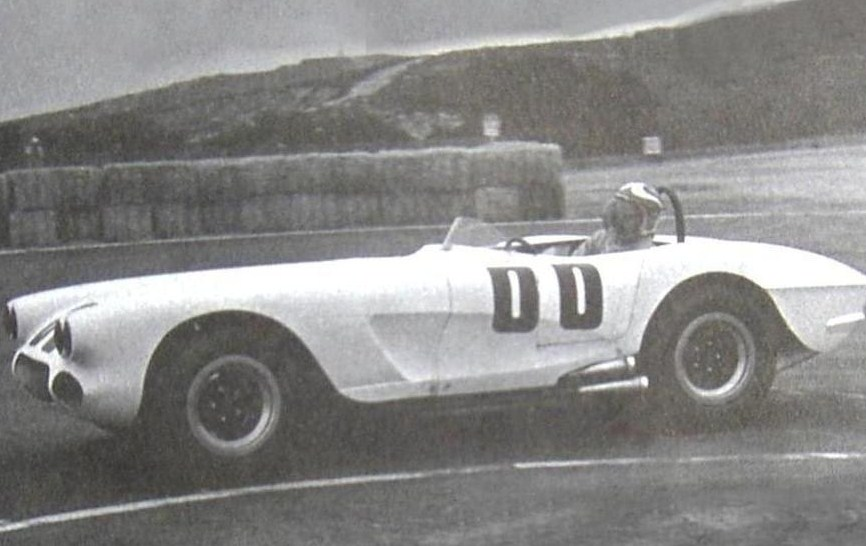 Dave MacDonald and Jim Simpson in the Corvette Special