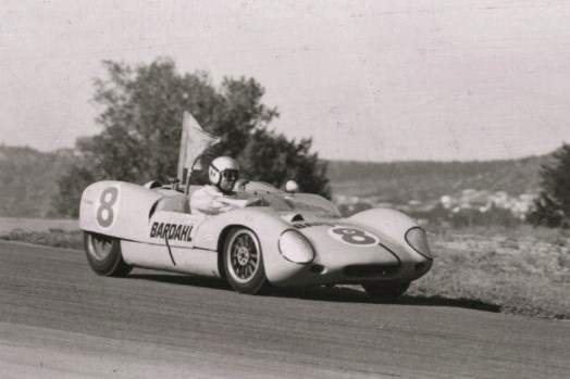 Dave MacDonald races the Cobra