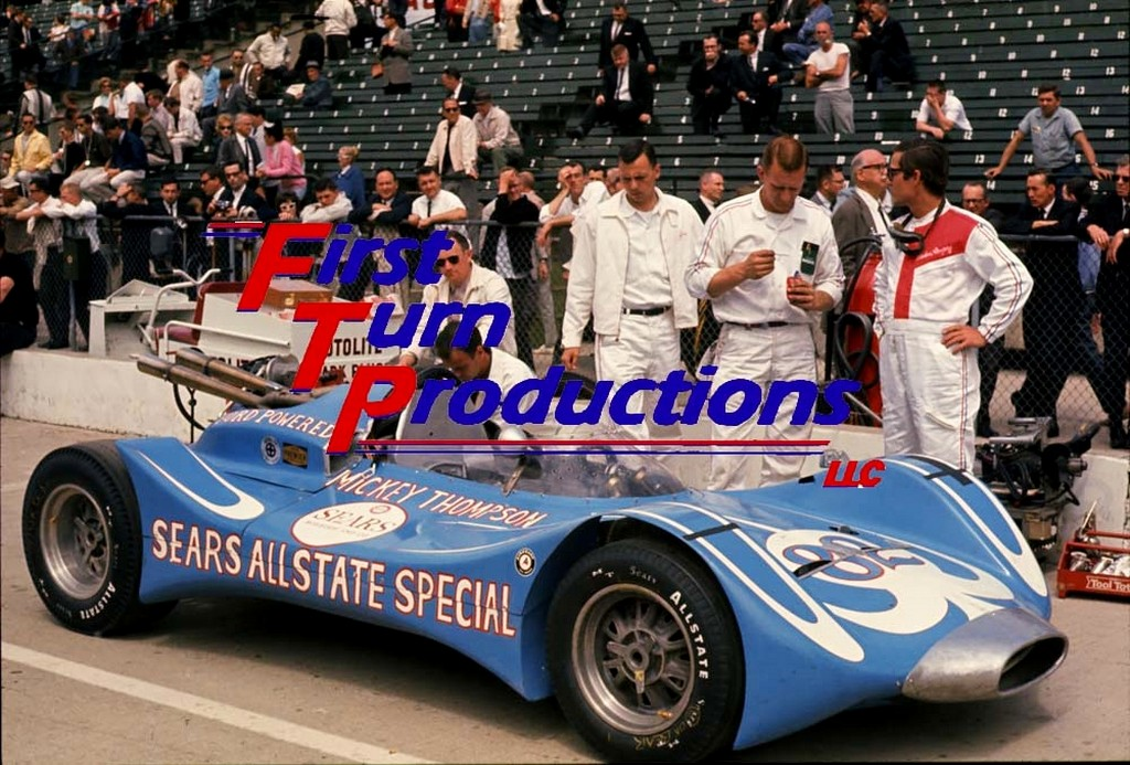 Dave MacDonald runs Mickey Thompsons Ford powered 83 car in the