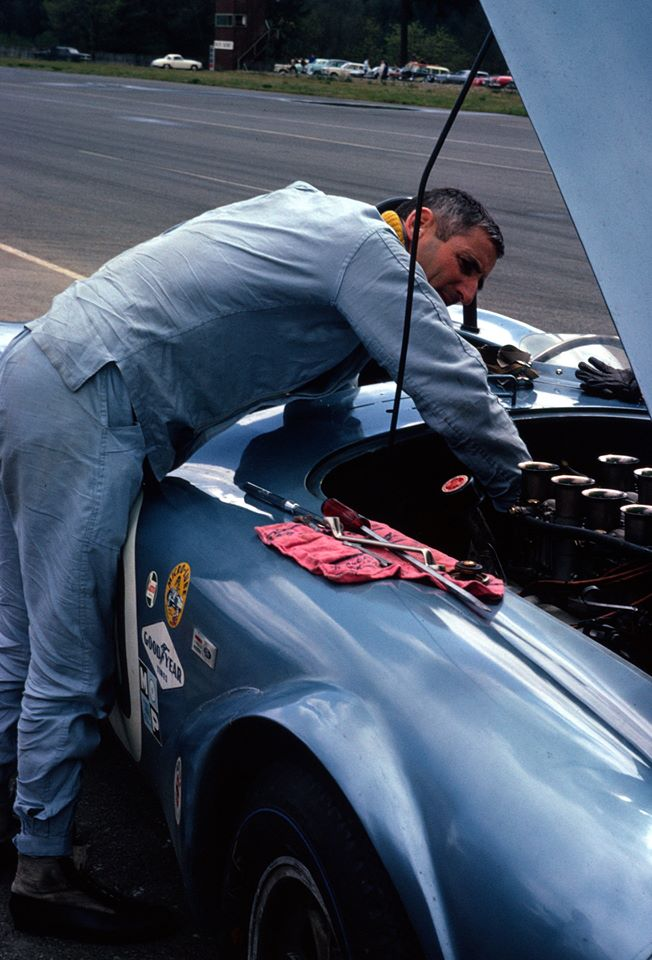 Old Chevy Cars >> Dave MacDonald wins 1964 USRRC Kent in Shelby King Cobra ...