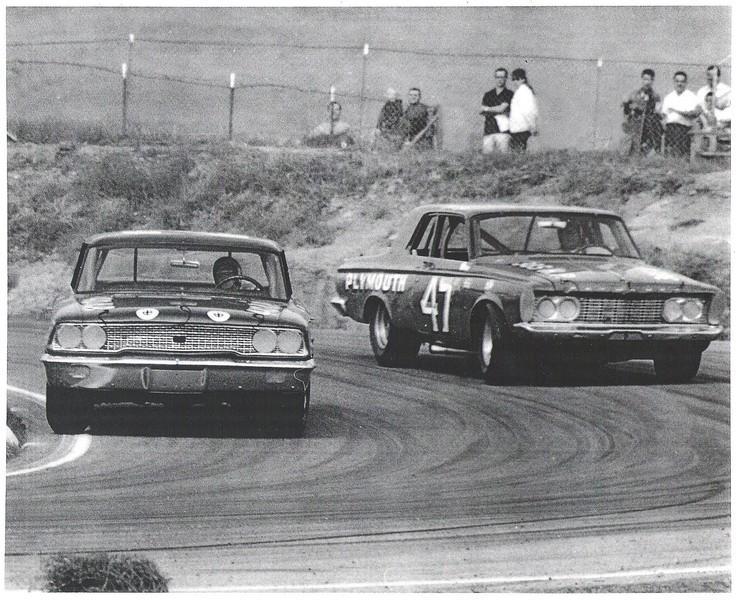 Dave MacDonald, NASCAR - Dave MacDonald 2nd in 1963 Golden State 400